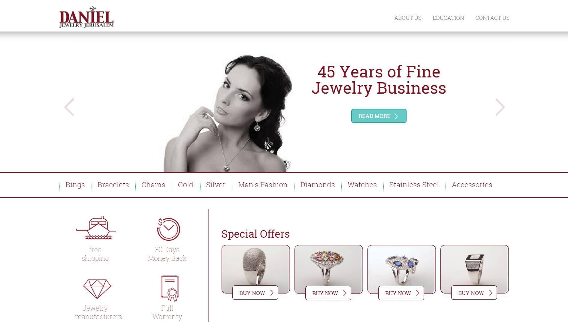 Daniel Jewelry ebay Store